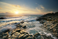 Beautiful seascape. Royalty Free Stock Photography