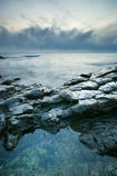 Beautiful seascape. Royalty Free Stock Images