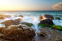 Beautiful seascape Stock Photos