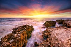 Beautiful seascape Stock Image