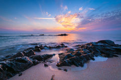 Beautiful seascape. Composition of nature Royalty Free Stock Photography