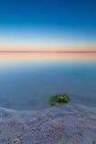 Beautiful seascape of Bay before sunrise Royalty Free Stock Photos