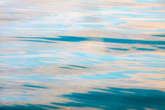 Beautiful seascape blue sea surface. Tranquil scene. Royalty Free Stock Image