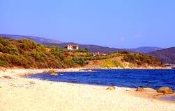 Beautiful seascape, Chalkidiki, Greece Stock Photo