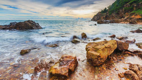 Beautiful seascape. Royalty Free Stock Image