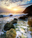 Beautiful seascape. Royalty Free Stock Photos
