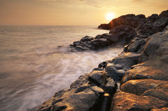 Beautiful seascape. Royalty Free Stock Photography