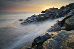 Beautiful seascape nature. Stock Images