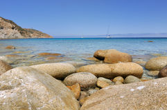 Beautiful seascape in Corsica Royalty Free Stock Photo