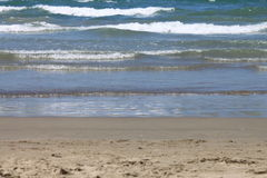 Beautiful seascape with fresh coldwater in summer, selective focus Stock Photo