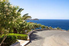 Beautiful seascape in Greece Stock Image