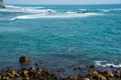 Beautiful seascape indian ocean Royalty Free Stock Image