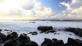Beautiful seascape stock video footage