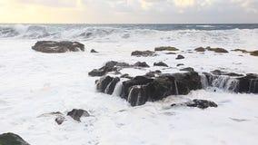 Beautiful seascape stock footage