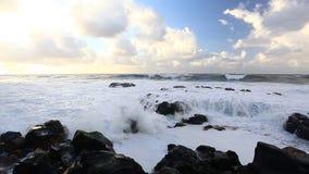Beautiful seascape stock video