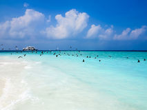 Beautiful seascape of maldives Stock Photo
