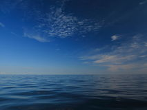 Beautiful seascape. Natural composition of nature Royalty Free Stock Photos