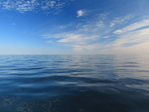 Beautiful seascape. Natural composition of nature Royalty Free Stock Images