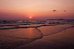 Beautiful seascape. Natural composition. Royalty Free Stock Image