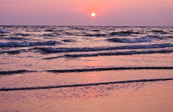 Beautiful seascape. Natural composition. Royalty Free Stock Photography