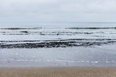 Oostduinkerke, West Coast, Belgium. Beautiful seascape photographed in Belgium Stock Photography