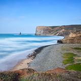 Beautiful seascape postcard. Portugal. Stock Image