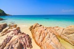 Beautiful Seascape and rocks Stock Image