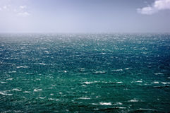 Beautiful seascape with rough sea Royalty Free Stock Photography