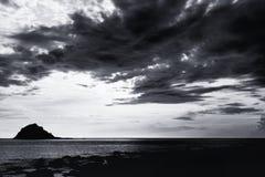 Beautiful seascape scene Stock Photography