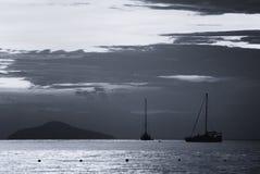Beautiful seascape scene Royalty Free Stock Photos