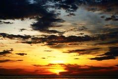 Beautiful seascape scene Stock Image