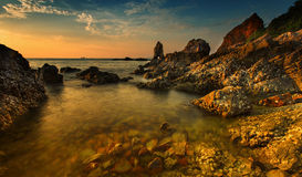 Beautiful seascape shot Royalty Free Stock Image