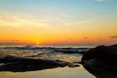 Beautiful seascape at sunrise Stock Photography