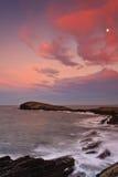 Beautiful seascape sunset Royalty Free Stock Image