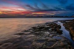 Beautiful seascape Sydney, Australia Royalty Free Stock Photography