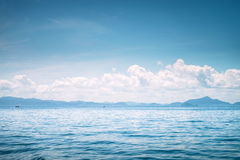 Beautiful seascape in thailand Royalty Free Stock Image