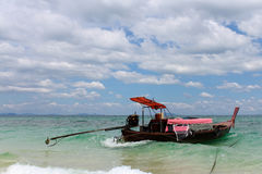 Beautiful seascape unseen Thailand Stock Image