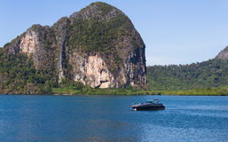Beautiful seascape unseen Thailand Royalty Free Stock Photos