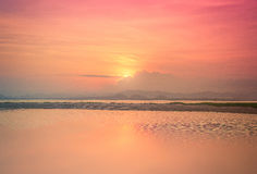 Beautiful seascapes at sunset Royalty Free Stock Photography