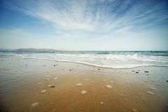 Beautiful seashore Royalty Free Stock Photo