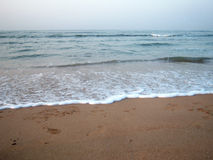 Beautiful seashore  at Diu Stock Images