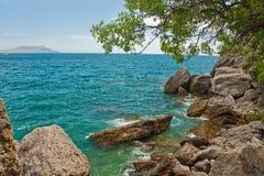 Beautiful seaside Stock Images