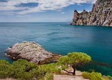 Beautiful seaside Royalty Free Stock Photography
