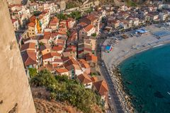 The beautiful seaside village of Scilla, Italy royalty free stock photography