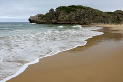 Beautiful Secluded Beach Royalty Free Stock Photos