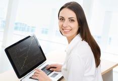 Beautiful secretary Stock Image