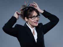 Beautiful secretary Stock Photography