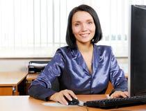 Beautiful secretary Royalty Free Stock Images