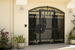 Beautiful security gate Stock Image