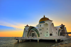Selat Mosque Royalty Free Stock Photography